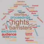 Rights of Audience
