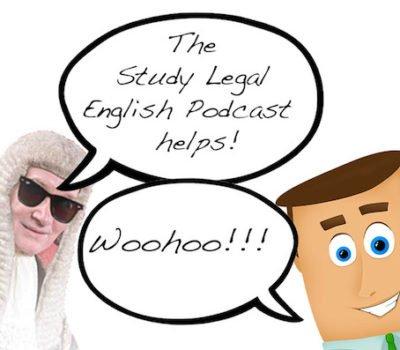 Study Legal English cartoon