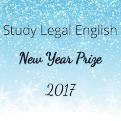 Study Legal English New Year Prize