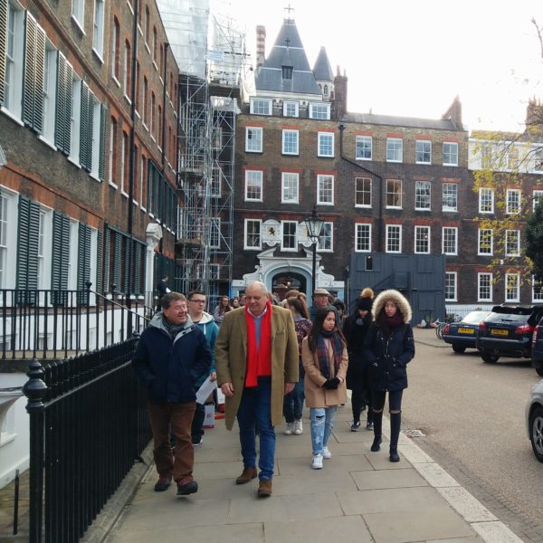 Walking to the Inns of Court