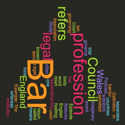 Study Legal English Word of the Week: Bar
