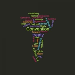 Study Legal English Word of the Week Convention