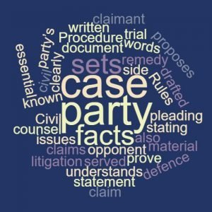 Study Legal English Word of the Week Statement of Case