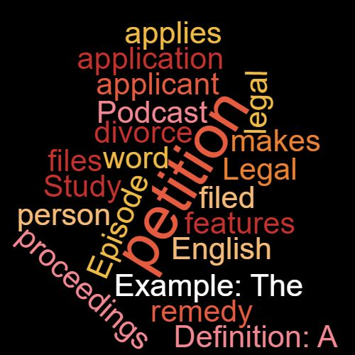 Study Legal English Word of the Week: Applicant