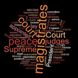 Study Legal English word of the week justices