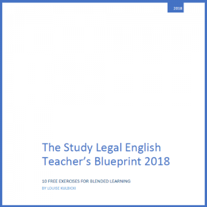 Study Legal English Teachers Blueprint