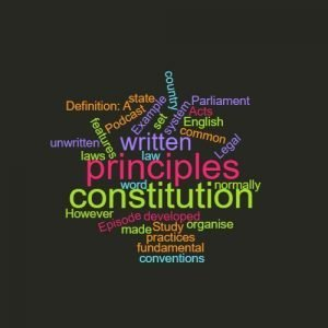 Study Legal English Word of the Week Constitution