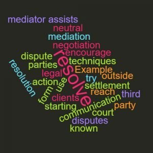 Study Legal English Word of the Week Mediation