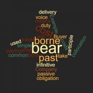 Study Legal English word of week bear