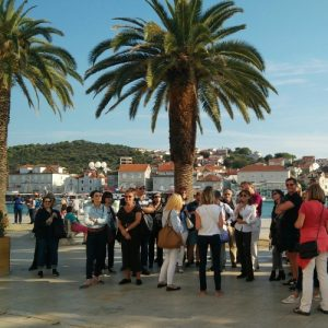 Guided tour of Trogir EULETA conference 2018