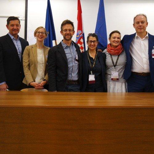 EULETAboard (from left): Franz Heidinger,myself (Louise Kulbicki), David Best, Sofi Parastatidou,Sophia Barinova, Mark Brophy.