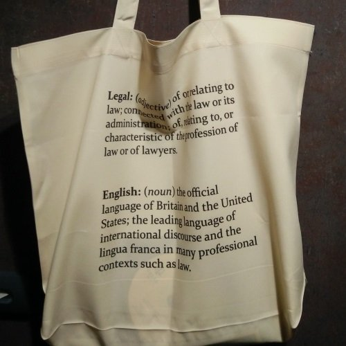 Legal English Tote Bag