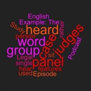 Study Legal English Word Week Panel
