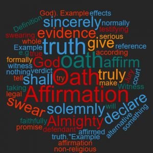 Study Legal English Word of the week To affirm