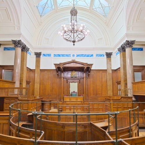 Magistrates court inside