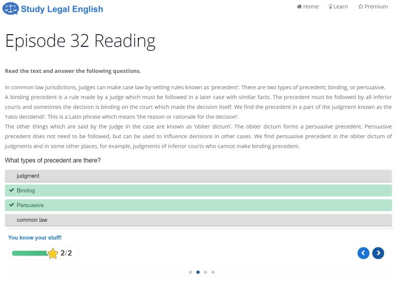 SLE Reading New Feature