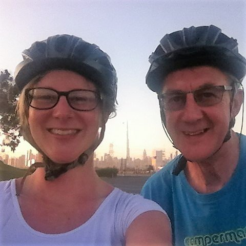 Cycling with Dad, AKA 'John' from the Networking for Lawyers podcast episodes