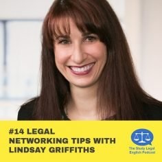 E14 û Legal networking tips with Lindsay Griffiths