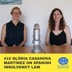 E15 û Gloria Casanova Martinez on Spanish insolvency law