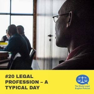 E20 û Legal Profession û A Typical Day