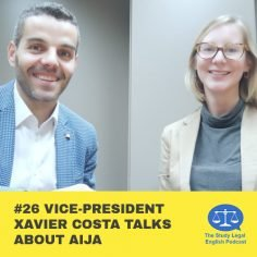 E26 û Vice-President Xavier Costa talks about AIJA