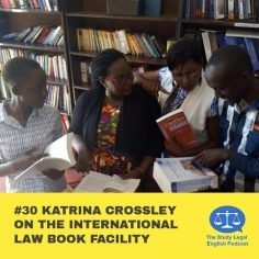 E30 û Katrina Crossley on the International Law Book Facility