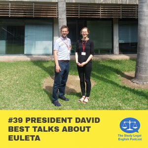 E39 û President David Best talks about EULETA