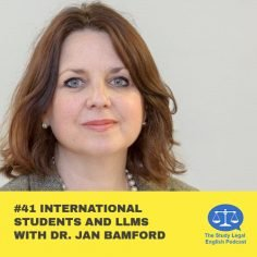 E41 û International students and LLMs with Dr. Jan Bamford