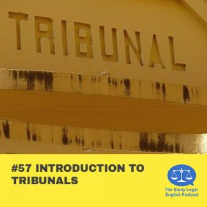 E57 Introduction to Tribunals