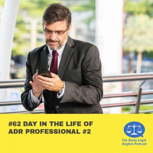 E62 Day in the Life of ADR Professional #2