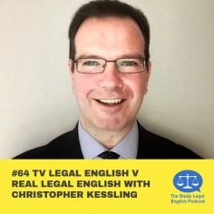 E64 TV Legal English v Real Legal English with Christopher Kessling
