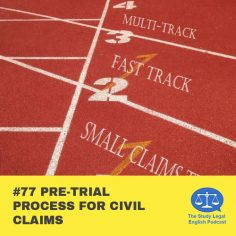 E77 Pre-Trial Process for Civil Claims (Monologue)