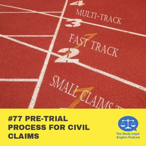 E77 Pre-Trial Process for Civil Claims (Monologue)