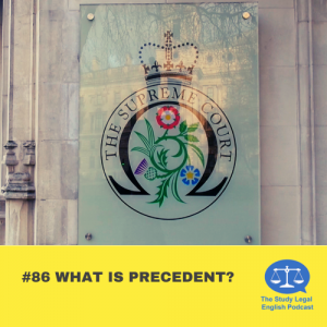E86 What is precedent