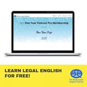 Learn Legal English for Free!