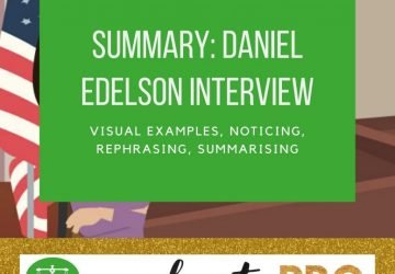 Summary of Daniel Edelson Interview