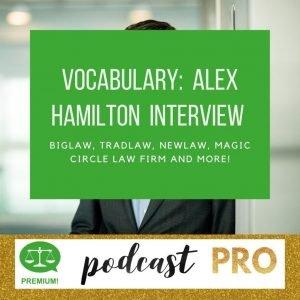 Alex Hamilton Legal Vocabulary