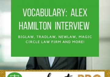 Alex Hamilton Legal Vocabulary