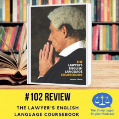 TOLES book Lawyers English Language Coursebook