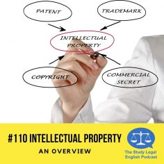 E110 IP Law Episode cover
